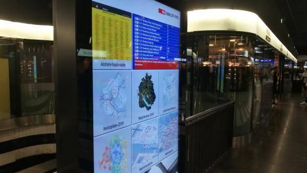 Digitale Monitore - Digitale Haustafel